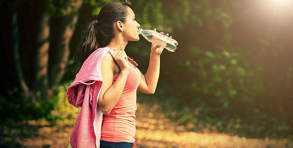 alergia y ejercicio agua