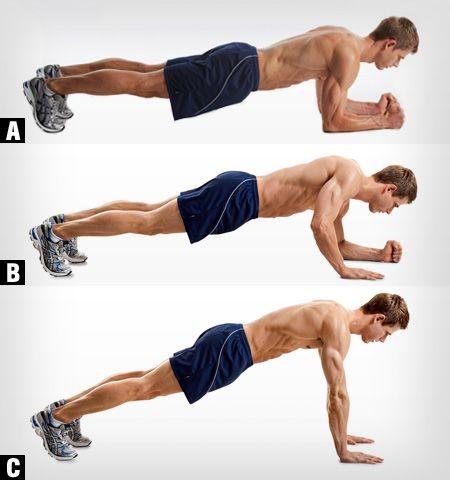 fortalecer brazos plancha