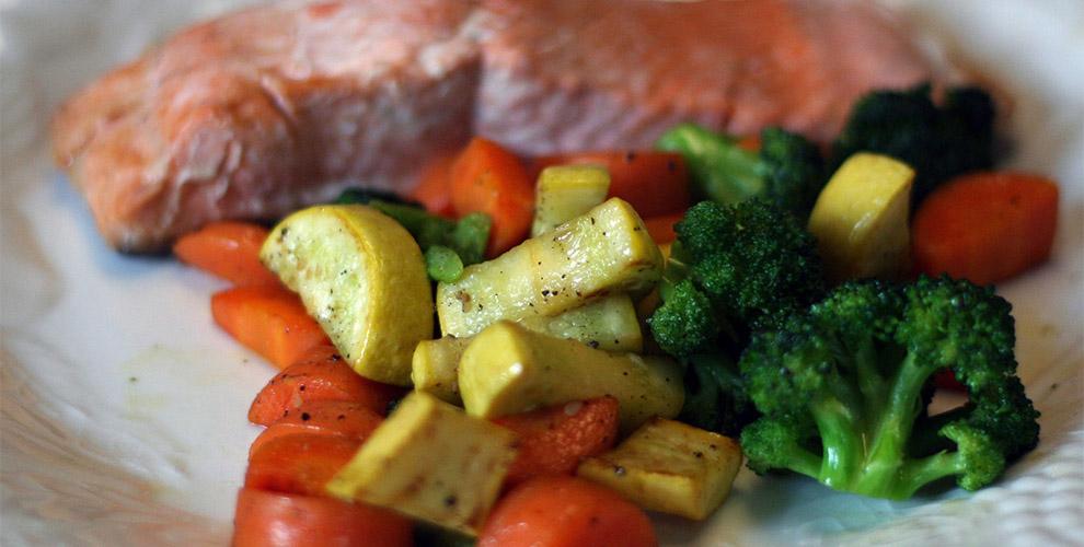 proteinas para aumentar masa muscular salmon