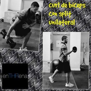 ejercicios biceps con mancuernas curl split