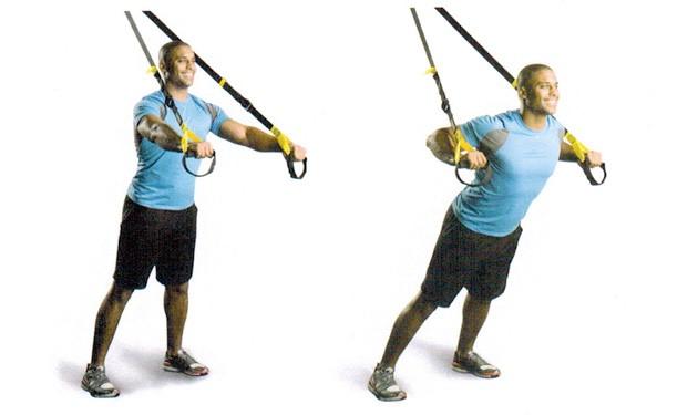 ejercicios para pectorales trx