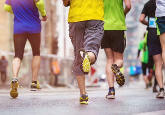 correr en ayunas gente