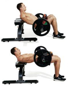 rutinas para gym hip