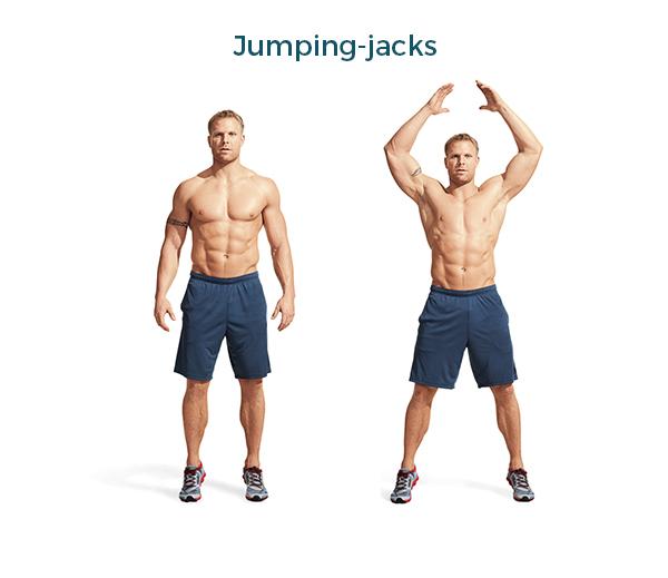 ejercicios diarios para estar en forma calorias