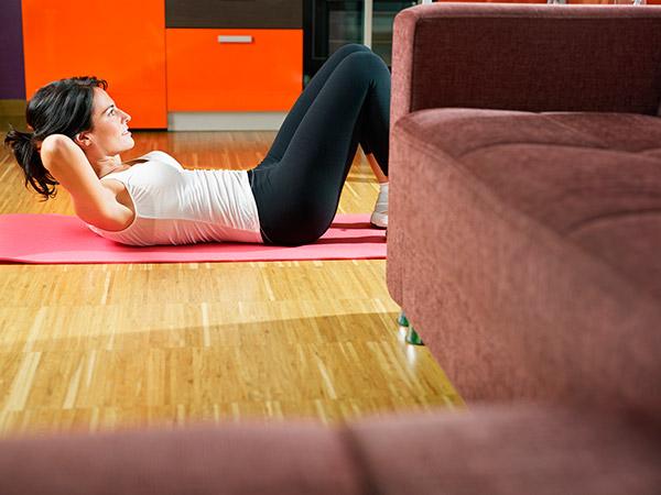 ejercicios diarios para estar en forma casa