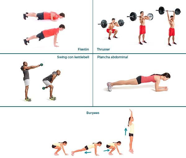 ejercicios diarios para estar en forma muscular