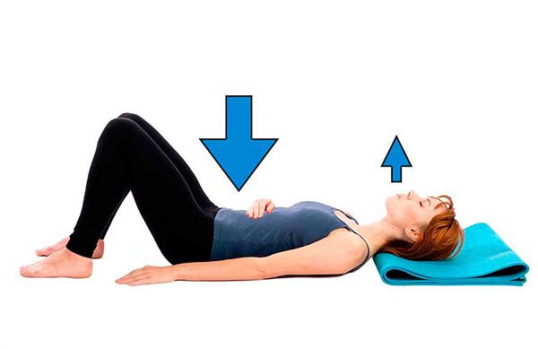 ejercicios para cintura y abdomen abdominal hollowing