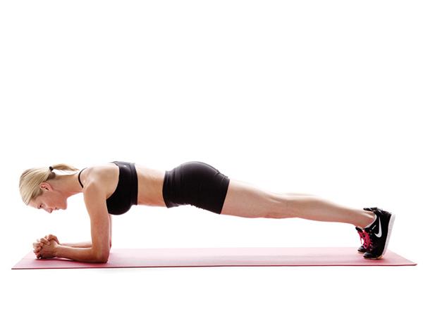ejercicios para cintura y abdomen plancha