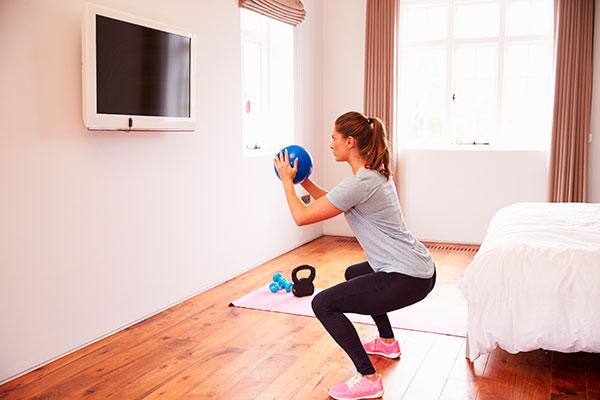 rutina de piernas para gym sentadilla