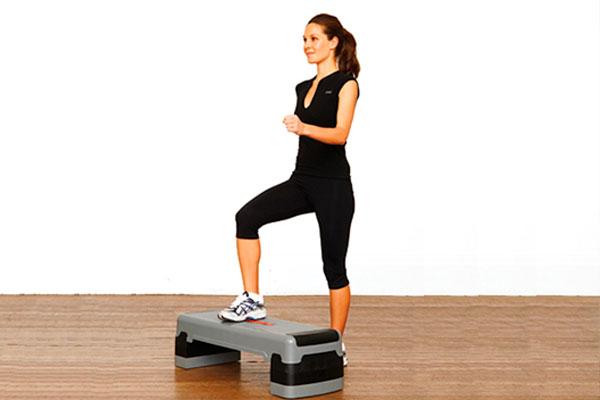 rutina de piernas para gym steps