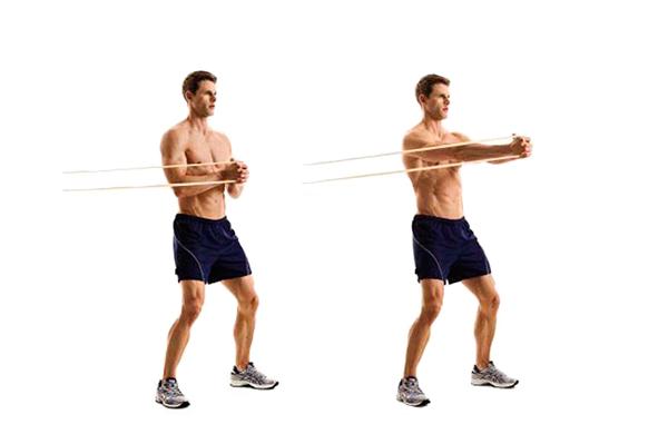 ejercicios de abdomen para mujeres press paloff