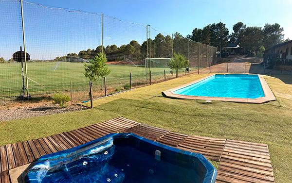 campus de formacion para porteros piscina